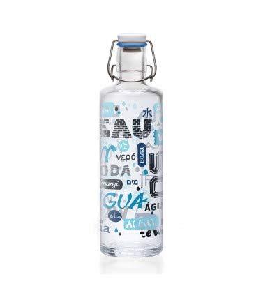 soulbottles Trinkflasche blau Einheitsgröße