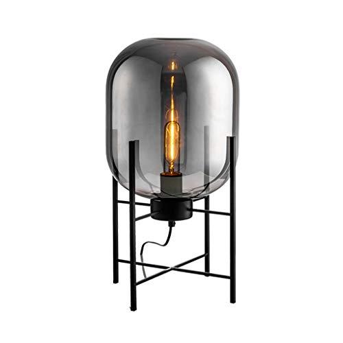 Moderne minimalistische nordische Stehlampe tischleuchte schreibtischlampe wohnzimmer lesung schwarz weiß lampenschirm stehlampe e27 lampe (Color : A-73 * 37cm)