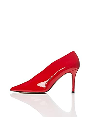 FIND Damen Pumps, Rot (Red), 40 EU (Schuh Pumps)
