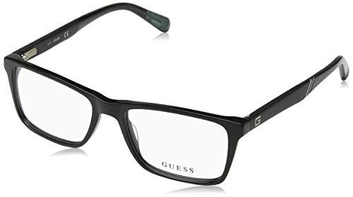 Guess Unisex-Erwachsene GU1954 001 53 Brillengestelle, Schwarz (Nero Lucido),