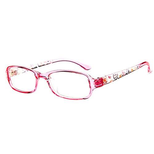 Forepin® Kinder Klare Linse Brille Augen Klassisches Wechselgläser Brillenfassungen Jungen und Mädchen Fashion Glasses