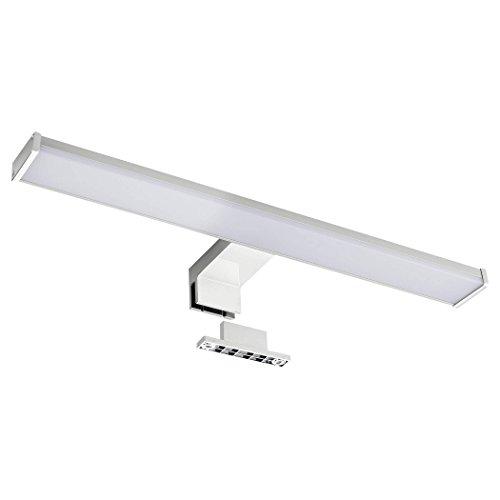 SEBSON Lampe Miroir Led Lampe Armoire miroir, Salle de bains IP44, blanc neutre 4000K, 400x 106x 40mm, 8W, 600