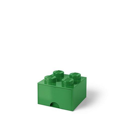 LEGO Schublade 4 Noppen, 1 Fach, stapelbare Box, 4,7 l