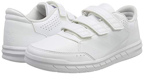 timeless design 00e16 3719a adidas 31843 Altasport Cf, Scarpe da Ginnastica Basse Unisex – Bambini,  Bianco (Ftwr WhiteFtwr WhiteClear Grey), 28 EU. Visualizza le immagini