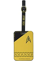 Star Trek Gold Uniform Luggage Tag