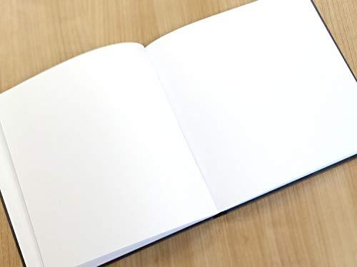 Hochzeitsgästebuch   Hardcover mit 144 weißen Seiten - 5