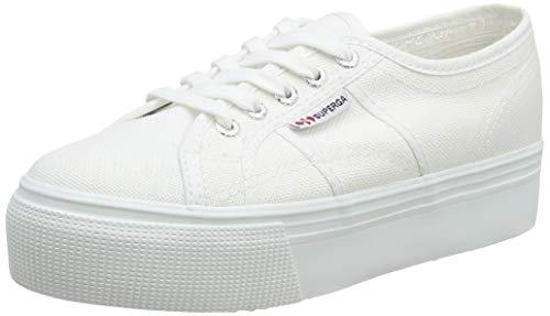 Superga 2790 Linea Updown Flatform Damen Sneaker,Weiß (901) ,40 EU