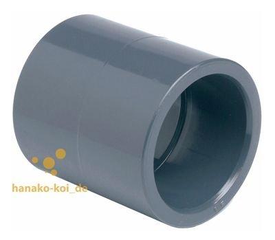 SIBO PVC Manchon (10-110 mm/16bar) - Pression Fitting à Coller 40mm (1.5 Zoll)