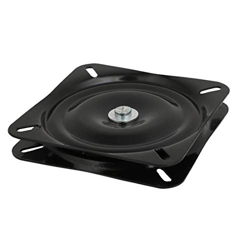 ZCHXD Square 6.5-inch Lazy Susan Turntable Bearing 23mm Thick 286-Lb Capacity (2 Regal Lazy Susan)
