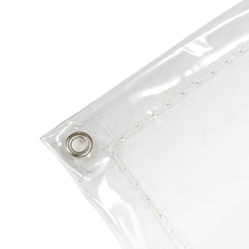 FOOD Transparente Regenplane, Faltbare Blumenmarkise, Möbelstaubschutz mit Metallloch-Polyethylen kann angepasst Werden (Größe: 2 * 3m / 6FT * 9FT) (größe : 1 * 1m) (9 Sonnenschirm Ft)