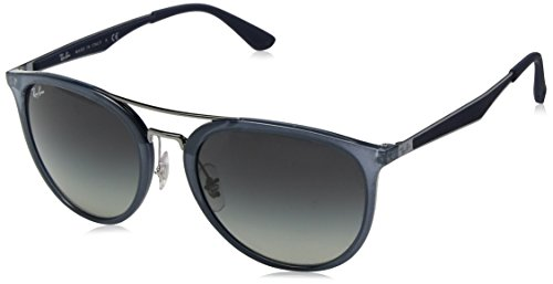 Ray-Ban RAYBAN Herren Sonnenbrille 4285, Light Blue/Greygradient, 55