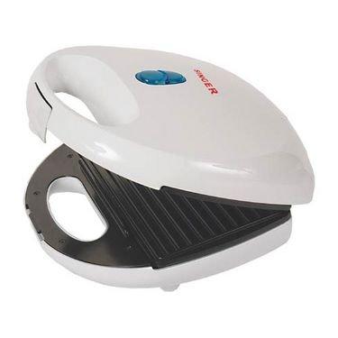 Singer Sm-23 750-watt Grilled Sandwich Toaster (white)