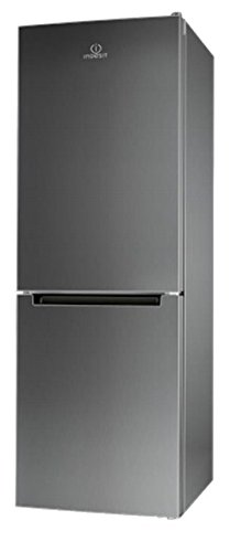 Indesit LI8FF2IX Freestanding Acero inoxidable 215L 90L A++ nevera y...
