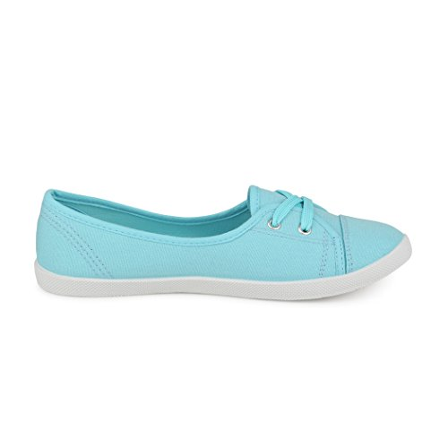 best-boots Ballerine Sneakers Sneaker scarpe da ginnastica Textil Zartblau