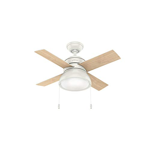 Hunter 59385 Deckenventilator Hunter 91,4 cm Loki Fresh weiß LED - Hunter Deckenventilator Light Kits