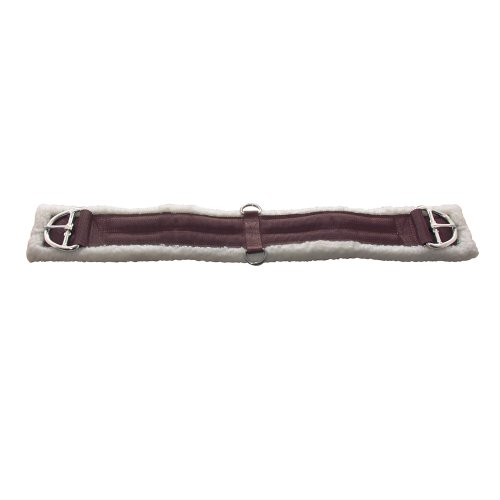 pfiff-western-saddle-girth-brown-brown-size80-cm