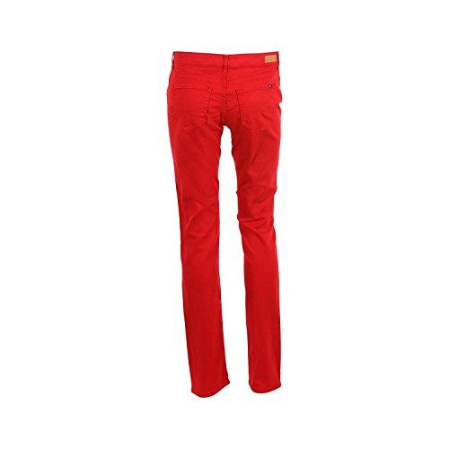 Tommy Hilfiger Damen Freizeit Hose  Sportbekleidung Rot