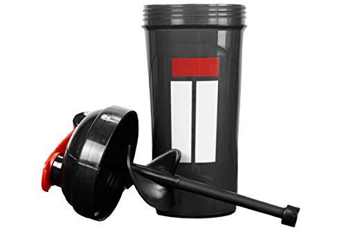 Isolator Fitness ISO-SHAKER Flasche Isolator Black -