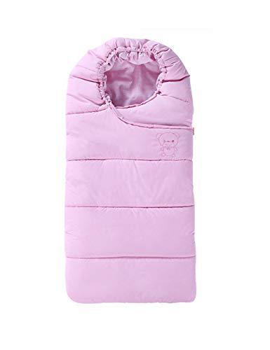 Besbomig deluxe bambino ragazza sacco a pelo invernale universale - neonato coperta impermeabile per passeggino e carrozzina sacchi nanna sleeping bag