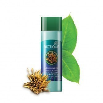 Biotique Bio Sea Kelp Fresh Growth Revitalizing Conditionerintensive...  available at amazon for Rs.6117