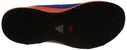 SALOMON XA ENDURO BLEUE Chaussures trail salomon Surf The Web / Flame / Black