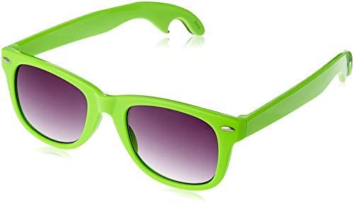 Flaschenöffner Sonnenbrille Lime-A-Rita Wayfarer Neon Grün