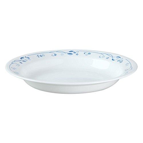 Corelle Livingware 15-Ounce Rimmed Soup/Salad Bowl, Provincial Blue by CORELLE Rimmed Soup Bowl
