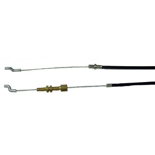 Clutch Cable for Lawnmower Hayter 48. Replaces original: 219029Cable Length: 1100mm Sleeve Length: 850mm Test