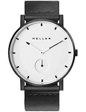 Meller - Maori Wit Black - Unisex Minimalistische Analog-Anzeige Uhr Armbanduhren
