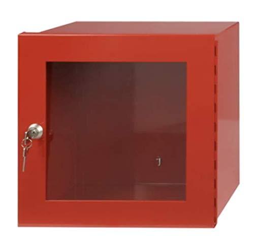 XXL Notschlüsselkasten Schutzkasten mit Glasscheibe rot 30x30x15cm Notfallkasten von MBS-FIRE®
