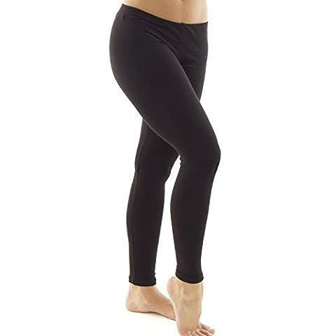 Silky Collants sans pieds Spandex Ballet Dance en noir, pour enfant ou adulte - Noir - Medium