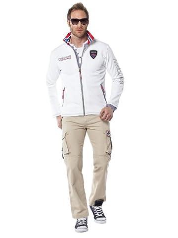Nebulus - Veste softshell Styler - veste d'extérieur (Q1060) - homme - crème - S/46