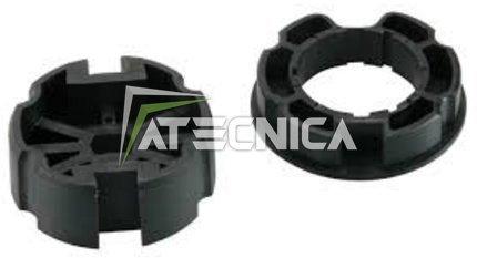Preisvergleich Produktbild Netzteil für Rohrmotor Markisen Achse 80mm Zugöse Fassung rechteckig 10x 15mm