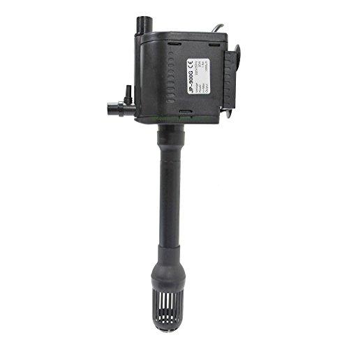 Multifunktionspumpe, Strömungspumpe 1000L/h, 20W, H-max.: 1,5m und Pumpe für 10W UVC Wasserklärer (AA-CUV-510)