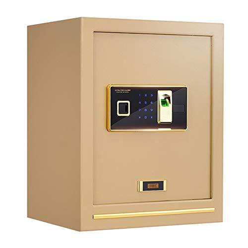Caja Fuerte de Seguridad,Cerradura de Teclado Electrónica Sólida de Caja de Seguridad,...