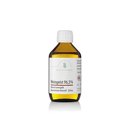 Weingeist 96,5 % - Ethanol - unvergällt 250ml