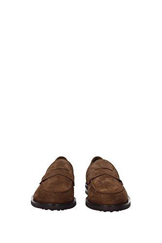 XXM0ZF0Q920RE0S818 Tod's Loafers Herren Wildleder Braun Braun
