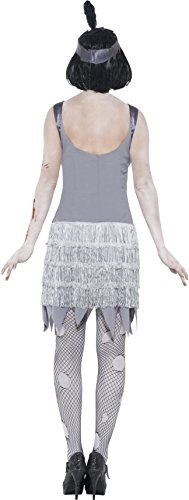 Imagen de smiffy's  disfraz de zombi años 20 para mujer, talla m 23213m  alternativa