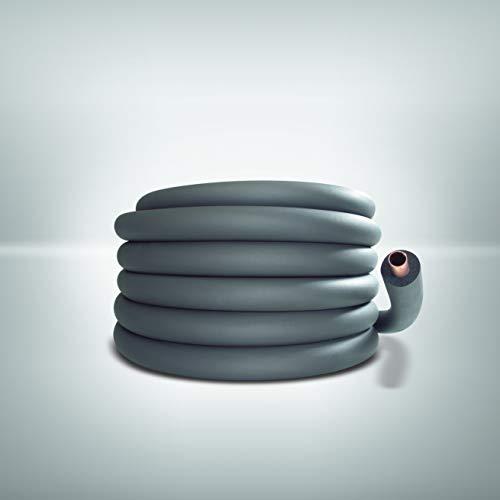Armacell Isolierschlauch AS B1-Schlauch SH/Armaflex (endlos, Länge 20 Meter, Farbe grau) SH-10X028/E