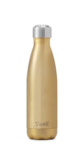 S'well Hombres Mujeres Botella metálica brillante grande Champagne única Talla