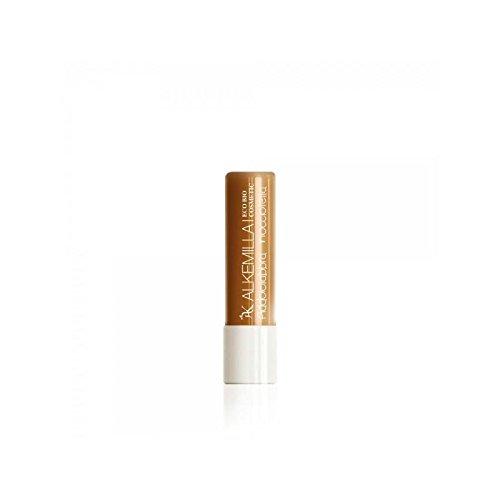 ALKEMILLA - Addolcilabbra Nougat-Noisette - Beurre hydratant pour les lèvres - Certifié Bio - Avec Huile de Noisettes,de Tournesol et de Ricin - Apaisant et Hydratant - Produit en Italie - 5 ml