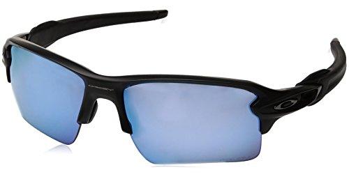Oakley Herren Flak 2.0 XL 918858 59 Sonnenbrille, Schwarz (Matte Black/Prizmdeeph2Opolarized),