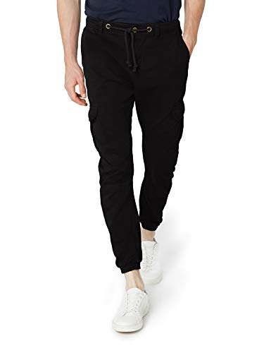 Urban classics cargo, pantaloni jogging uomo, medium, nero (black 7)