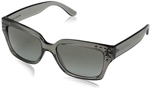 Michael Kors Damen Banff 334511 55 Sonnenbrille, Grey Crystal/Greygradient