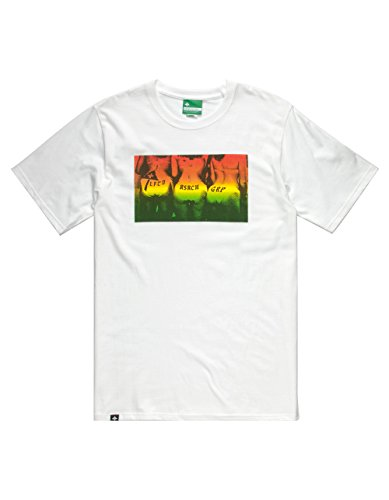 LRG Herren T-Shirt Booty Party - Weiß - XX-Large - Lrg-print-shorts