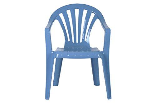 Cofan - Silla de jardín para niños, color Azul, 255x295x490mm