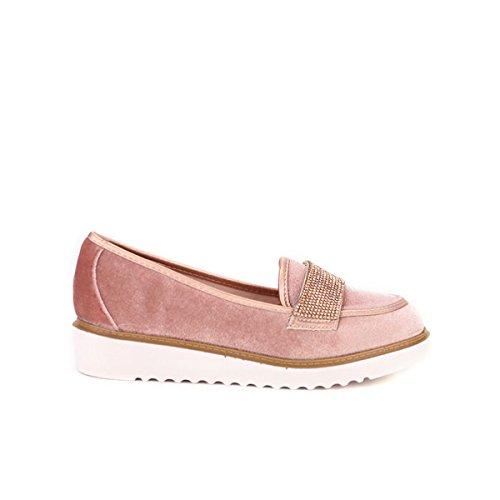 Cendriyon, Ballerine façon derbies Pink WEIDES Chaussures Femme Rose