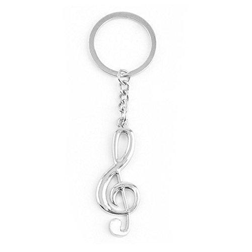 la-musica-nota-di-colore-argento-metallico-portachiavi