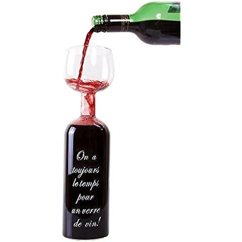 Novità Bottiglia Bicchiere di Vino con divertenti