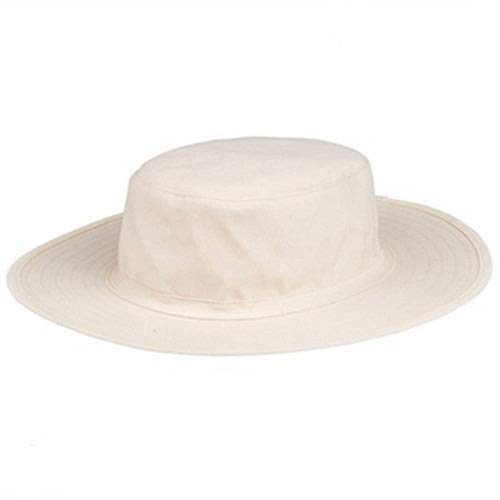 Acceptive Men and Women's Cotton Cricket Umpire Hat (White)